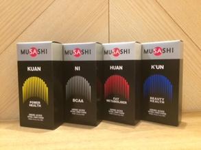 アミノ酸(MUSASHI)   各¥150〜
